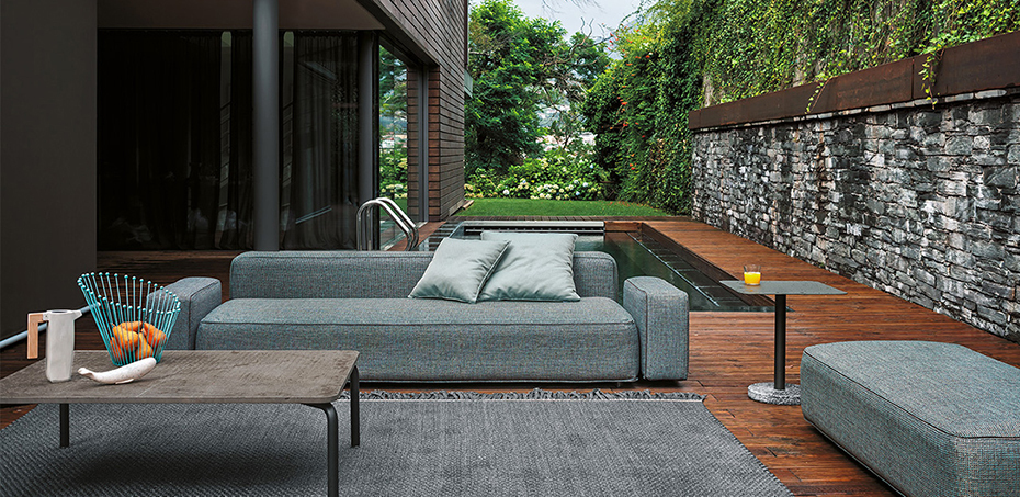 Smart Shapes And Generous Dimensions Roda Italian Outdoor